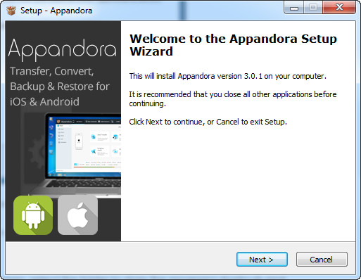 Install Appandora iOS Manager