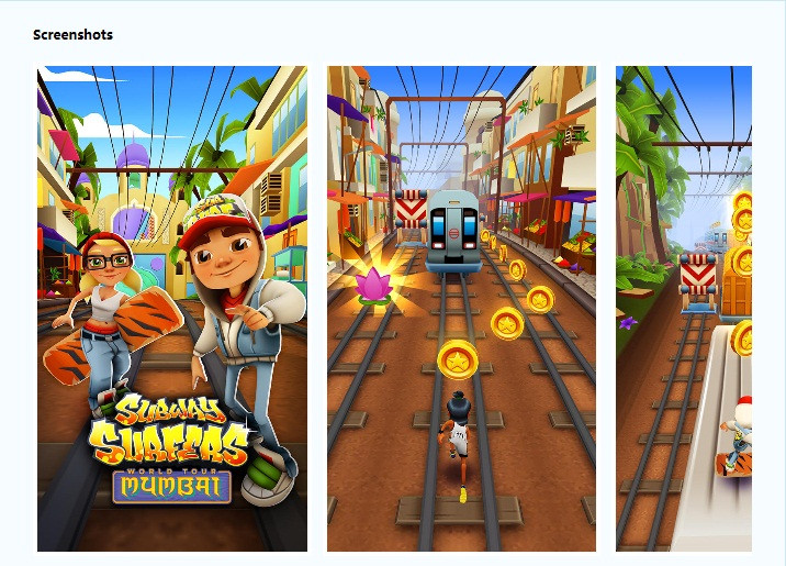 free download and play subway surfers